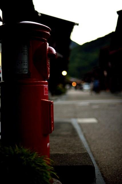 奈良井宿 夕景