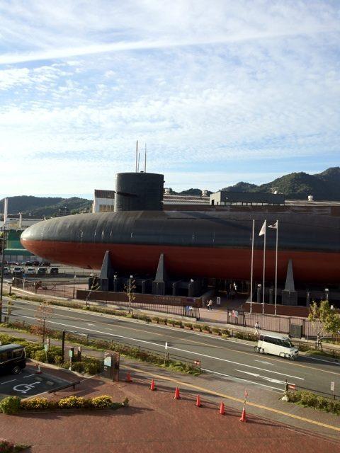 海上自衛隊呉史料館 潜水艦あきしお