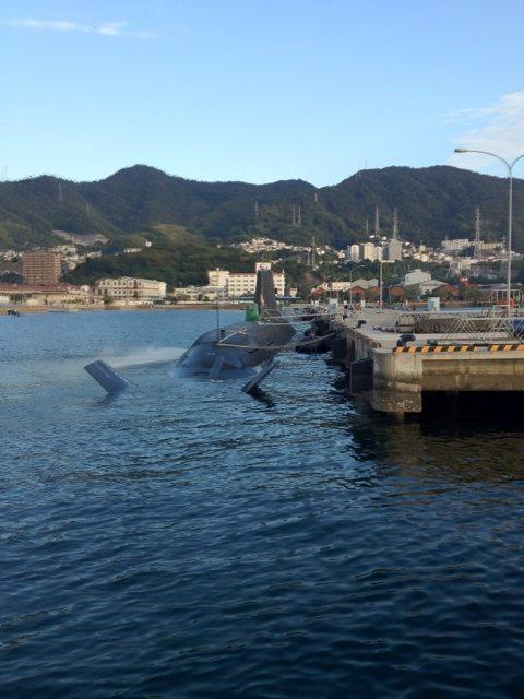 最新型の潜水艦 そうりゅう型