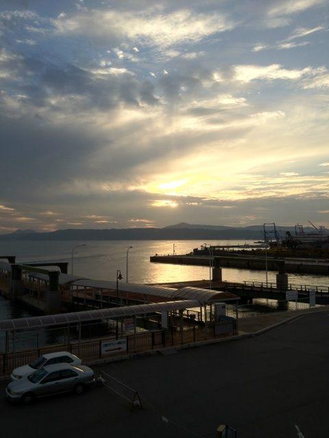 呉港サンセット