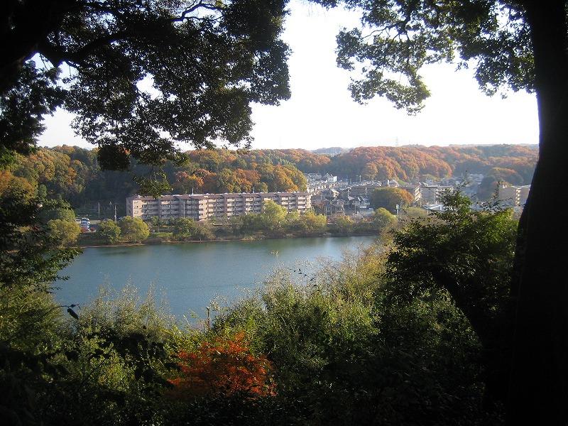 石山寺から見た瀬田川
