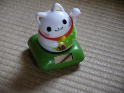 幸せ招き猫だって!!