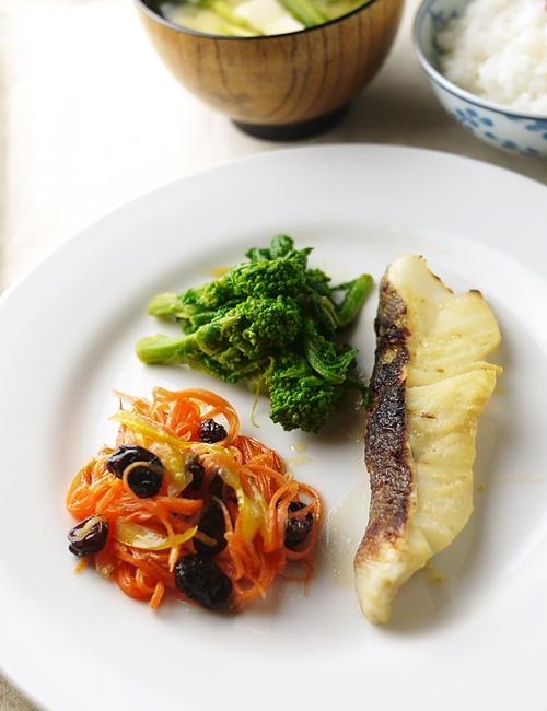 鱈の西京焼2
