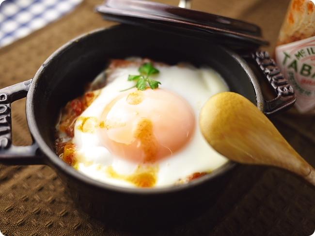 卵のココット