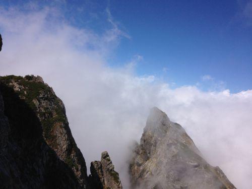 12午後になって雲が出て