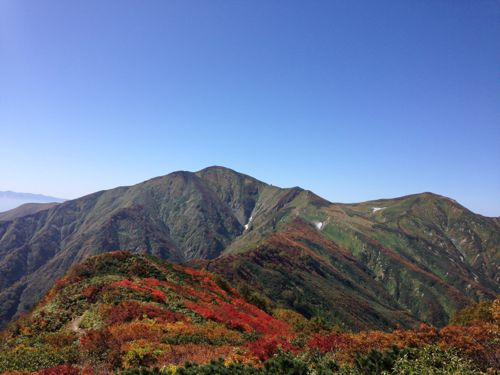 5東北の宝 朝日連峰