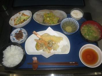 0413 天ぷら定食