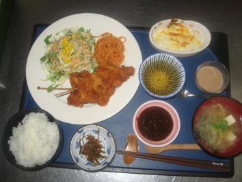 0415 串カツ定食