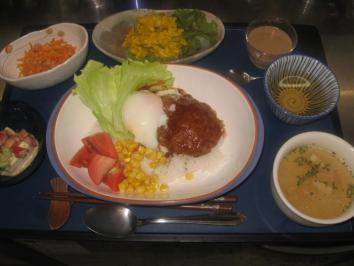 0716 ロコモコ丼ランチ