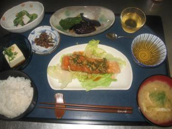 0721 魚の竜田揚げランチ