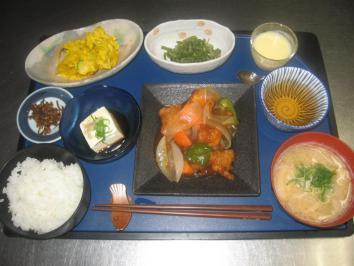 0727 酢鶏ランチ