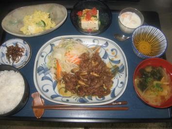 0813 焼肉定食