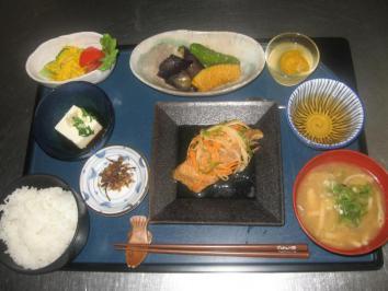 0819 魚の南蛮漬け定食