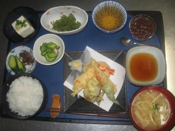 0910 天ぷら定食