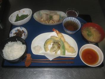1013 天ぷら定食