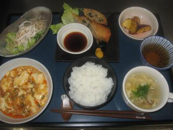 1027 麻婆豆腐ランチ