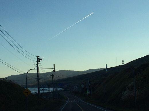 141021飛行機雲