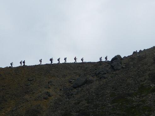 朝日岳へ 002