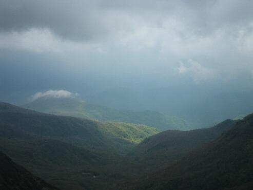 朝日岳へ 029