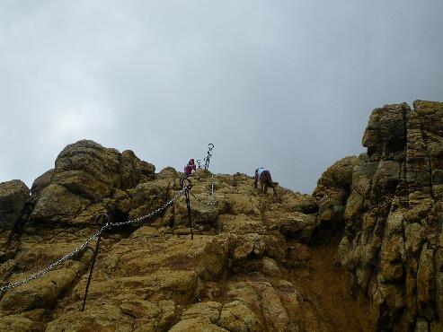 朝日岳へ 017