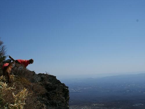 冬 山登り