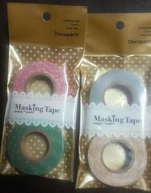 クリスマス柄マスキングテープ