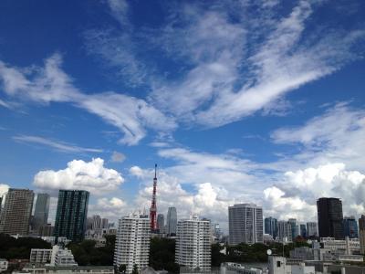 ドラマティックな雲
