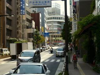 神田川から高田馬場駅周辺