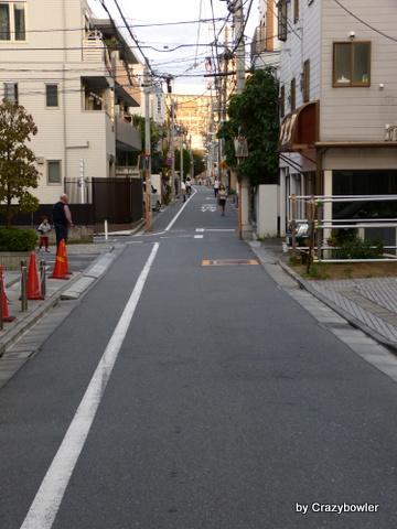 高田馬場跡 茶屋通り