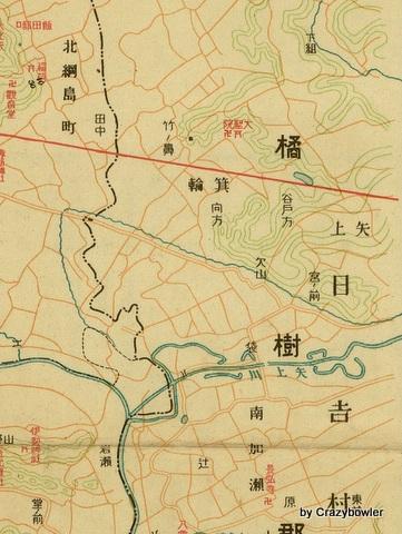 日吉地図昭和5年