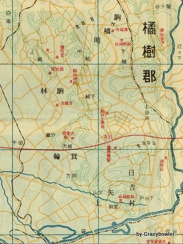 日吉地図昭和9年