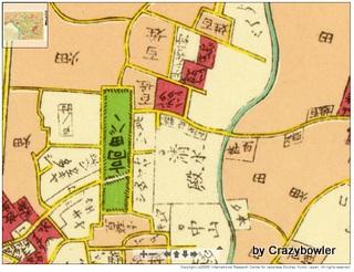 安政江戸図1859年