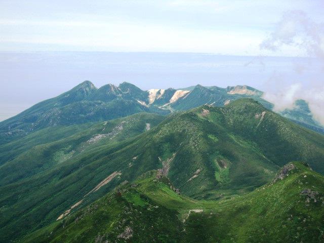 129三ッ峰 硫黄山方面