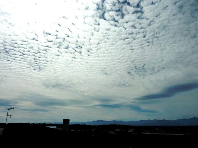 009ヒツジ雲