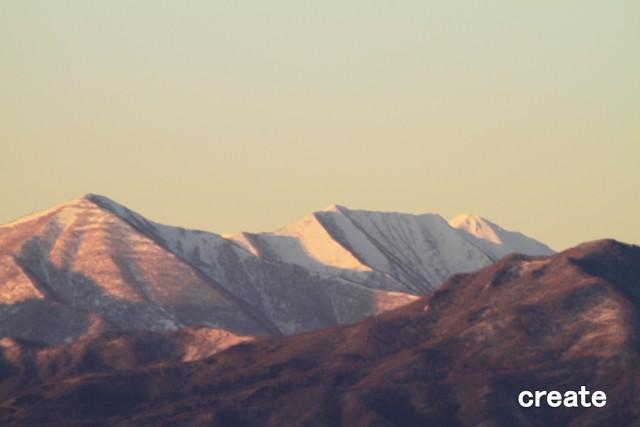 011山の稜線