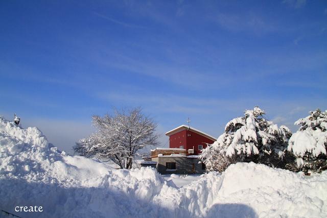 DPP0 668 052雪 青空と雪化粧の0443