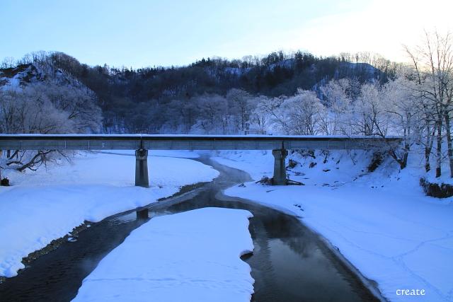 DPP0 668 171雪と川と樹氷のコラ0443