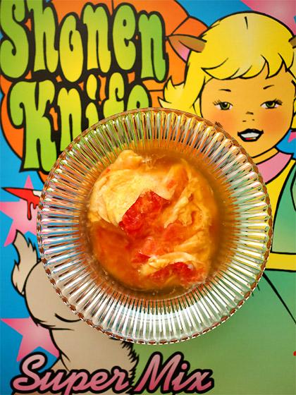 トマトの卵とじ 琥珀あんかけ(トップ)