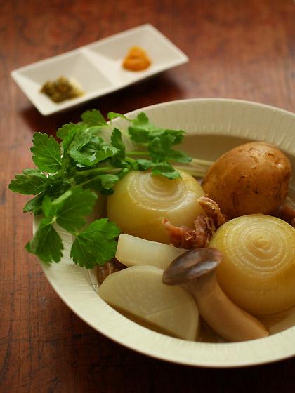 牛すじの根菜ポトフ1