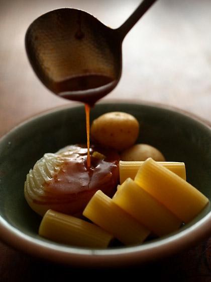 牛すじ肉のブラウンシチュー(トップ)