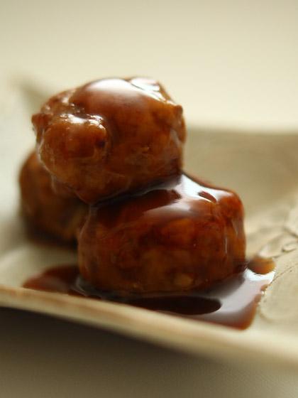 肉団子の甘酢あんかけ(トップ)