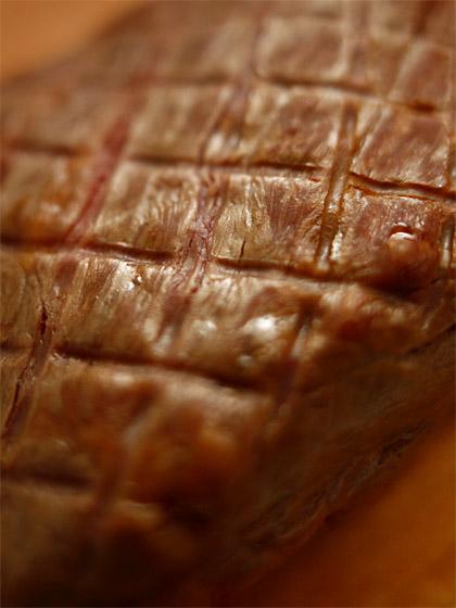 馬肉の燻製