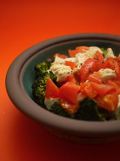 鶏と野菜の蒸し焼き