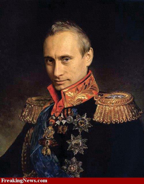 プーチン肖像画