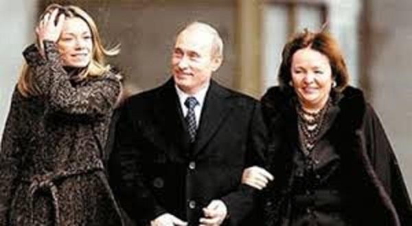 プーチン家族
