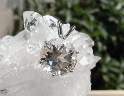 crystal-verry* クリスタルベリー*オーナーのブログ*-ハーキマーダイヤモンドペンダント