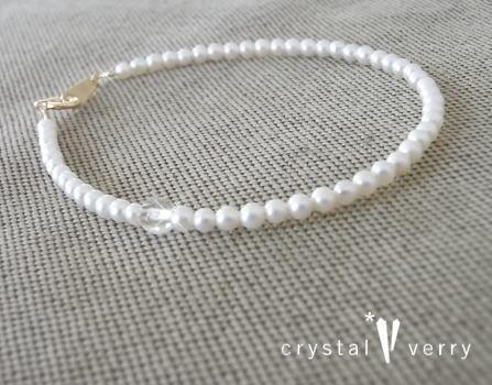 crystal-verry* クリスタルベリー*オーナーのブログ*-パールブレスレット