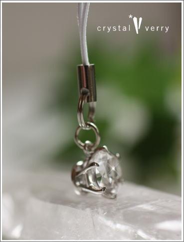 crystal-verry* クリスタルベリー*オーナーのブログ*-水晶の携帯ストラップ