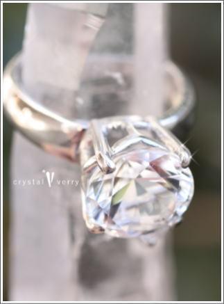 crystal-verry* クリスタルベリー *・オーナーのブログ・*-水晶リング