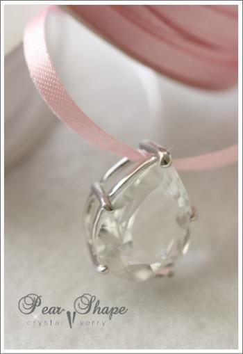 crystal-verry* クリスタルベリー *・オーナーのブログ・*-しずく型 水晶 ペンダント